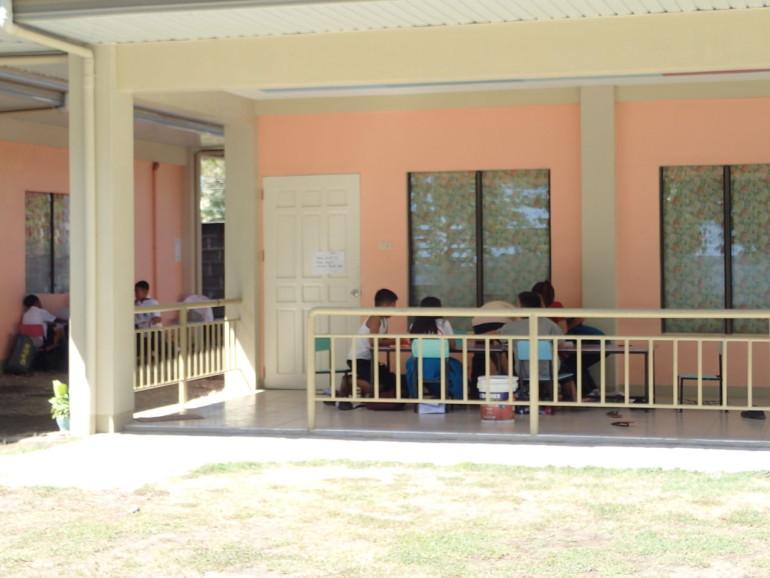 ドゥマゲッティの幼稚園授業風景 ドンボスコ