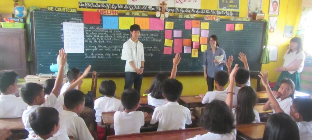 ドゥマゲッティでの教育サポート