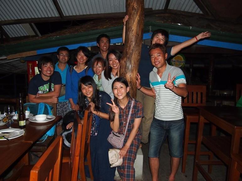 フィリピン青年海外協力隊員との集まり