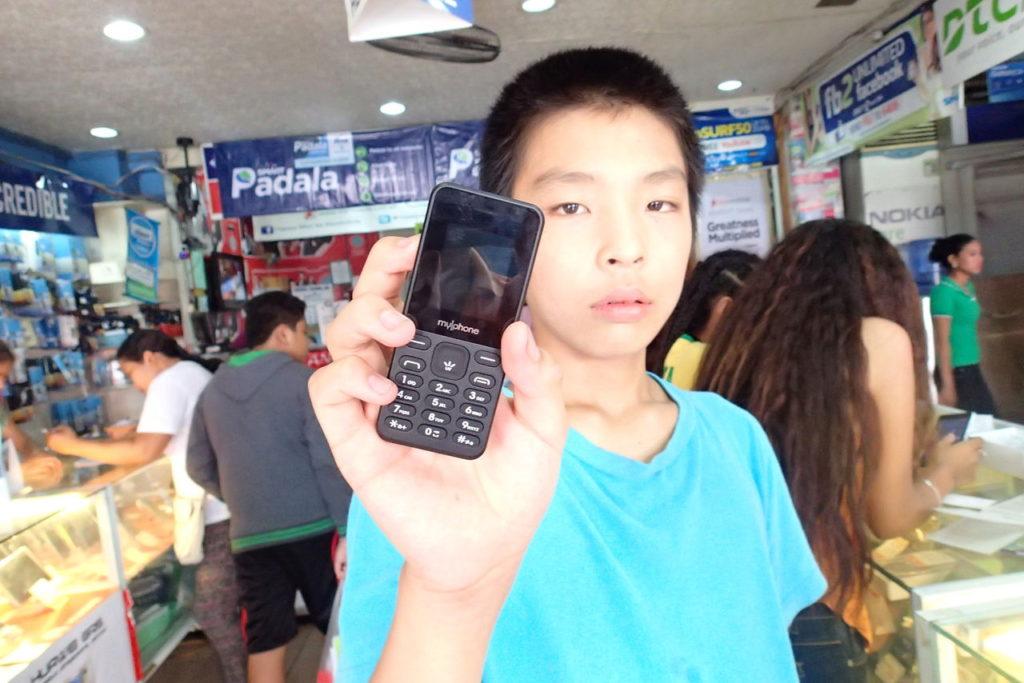 ドゥマゲッティで携帯を買う