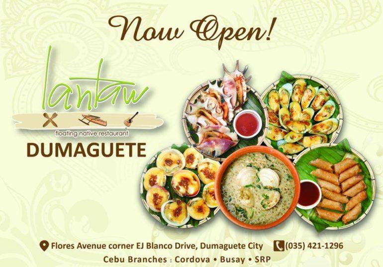ドゥマゲッティ新規オープンのレストラン ランタウドゥマゲッティ支店