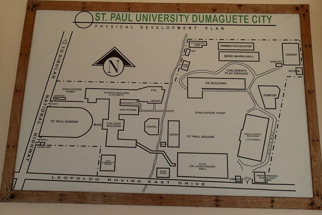 セントポール施設地図