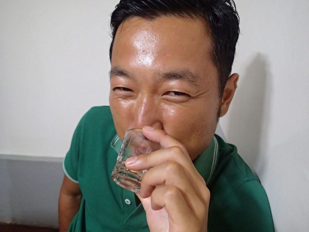 ビールからのー韓国焼酎