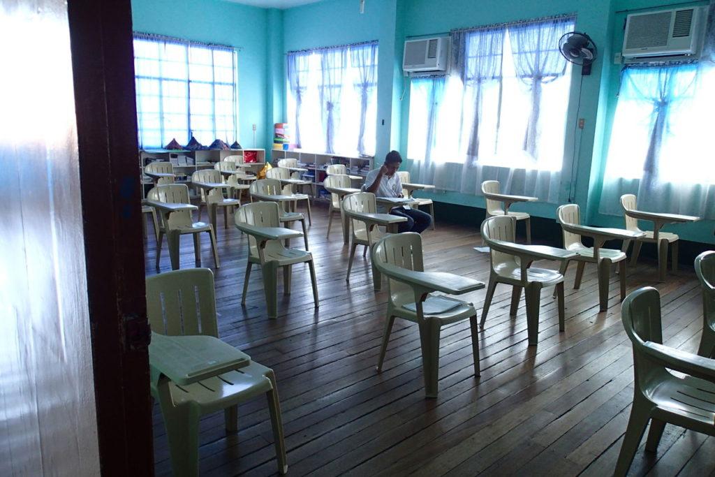ホーリークロス高校教室