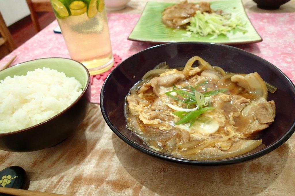 ドゥマゲッティの日本食