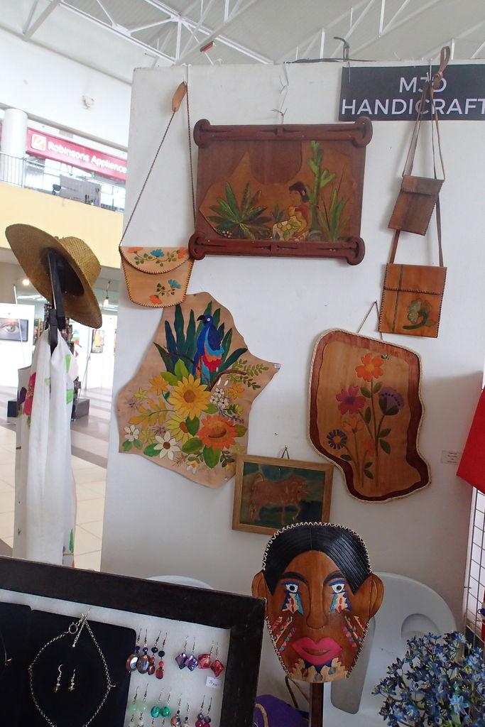 ネグロス島の特産物、お土産品を創る