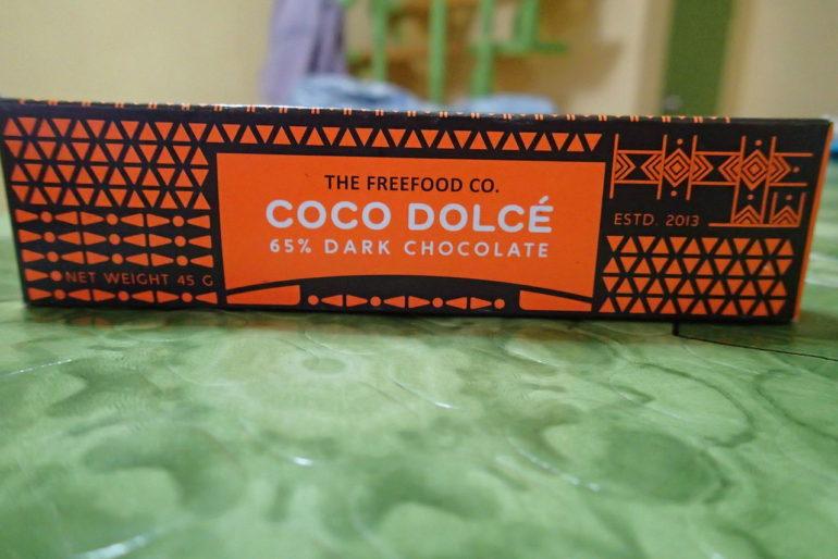 ネグロスでドゥマゲッティでオーガニックココナッツシュガーチョコレートを創る