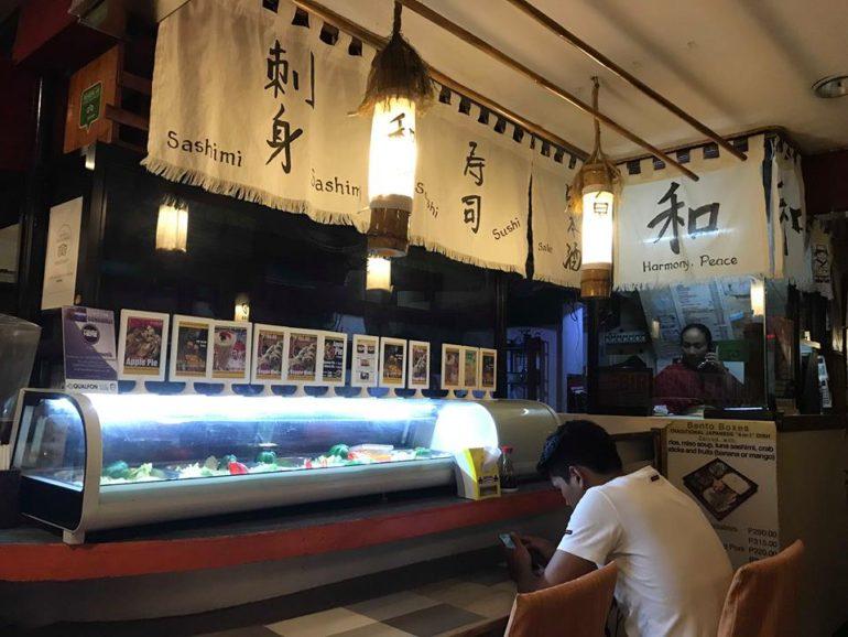 ドゥマゲッティの日本食食べ放題