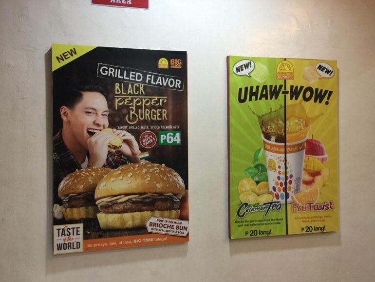 ドゥマゲッティの激安人気ハンバーガー店