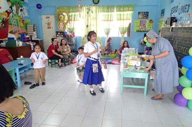 シタディーニ幼稚園の誕生日会